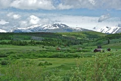Pioneer Mountains Montana