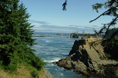 Sunset Bay Oregon Coast